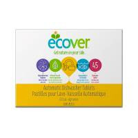 Kitchen - Cleaning Supplies - Ecover - Ecover Dish Tablets 45 ct - Citrus (6 Pack)