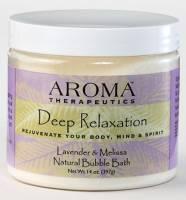 Health & Beauty - Abra Therapeutics - Abra Therapeutics Deep Relaxation Bubble Bath 14 oz