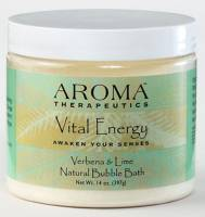 Health & Beauty - Bath & Body - Abra Therapeutics - Abra Therapeutics Vital Energy Bubble Bath 14 oz