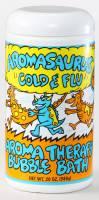 Health & Beauty - Abra Therapeutics - Abra Therapeutics Aromasaurus Kids Bubble Bath Cold & Flu Eucalyptus Lemon 20 oz