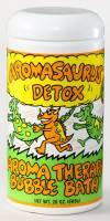 Health & Beauty - Abra Therapeutics - Abra Therapeutics Aromasaurus Kids Bubble Bath Detox Grapefruit & Green Tea 20 oz