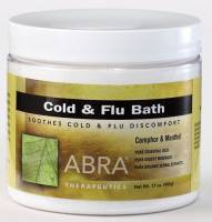 Health & Beauty - Bath & Body - Abra Therapeutics - Abra Therapeutics Cold & Flu Bath 17 oz