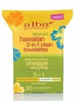 Health & Beauty - Skin Care - Alba Botanica - Alba Botanica Hawaiian 3-in-1 Clean Towelette 30 ct