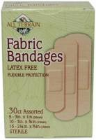 Health & Beauty - Accessories - All Terrain - All Terrain Fabric Bandages Assorted 30 pc