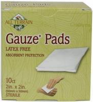 Health & Beauty - Accessories - All Terrain - All Terrain Gauze Pads 2x2 inch 10 pc