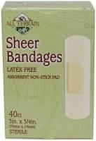 Health & Beauty - Accessories - All Terrain - All Terrain Sheer Bandages 0.75x3 inch (40 Pcs)
