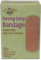 Health & Beauty - Accessories - All Terrain - All Terrain Strong Strip Bandages (20 Pcs)