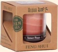 Home Products - Candles - Aloha Bay - Aloha Bay Candle Feng Shui Gift Box Earth 2.5 oz- Light Brown