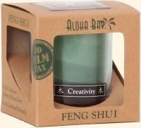 Home Products - Candles - Aloha Bay - Aloha Bay Candle Feng Shui Gift Box 2.5 oz- Wood Green