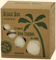 Home Products - Candles - Aloha Bay - Aloha Bay Tealight Unscented Eco-O Red