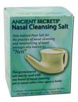 Health & Beauty - Nasal Care - Ancient Secrets - Ancient Secrets Nasal Cleansing Salt (40 pkt)