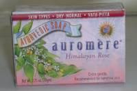 Health & Beauty - Ayurvedic - Auromere - Auromere Ayurvedic Bar Soap Himalayan Rose