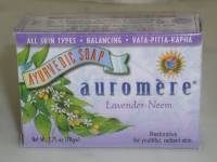 Health & Beauty - Ayurvedic - Auromere - Auromere Ayurvedic Bar Soap Lavender-Neem