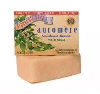 Health & Beauty - Ayurvedic - Auromere - Auromere Ayurvedic Bar Soap Sandal-Turmeric