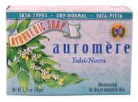 Health & Beauty - Ayurvedic - Auromere - Auromere Ayurvedic Bar Soap Tulsi-Neem