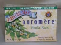 Health & Beauty - Ayurvedic - Auromere - Auromere Ayurvedic Bar Soap Vanilla-Neem