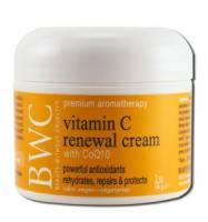 Specialty Sections - Vegan - Beauty Without Cruelty - Beauty Without Cruelty Organic Renewal Cream with Vitamin C 2 oz