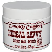 Herbs - Country Comfort - Country Comfort Herbal Savvy Goldenseal Myrrh 2 oz