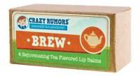 Health & Beauty - Lip Care - Crazy Rumors - Crazy Rumors Brew Tea Flavored Lip Balm Gift Set