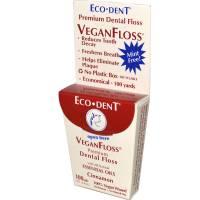 Health & Beauty - Dental Care - Ecodent - Ecodent VeganFloss Cinnamon 100 Yards