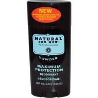 Health & Beauty - Deodorants - Herban Cowboy - Herban Cowboy Deodorant for Her Powder 2.8 oz