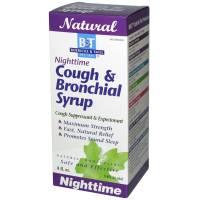 Boericke & Tafel Nighttime Cough & Bronchial Syrup 4 oz