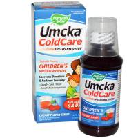 Health & Beauty - Children's Health - Nature's Way - Nature Way Umcka Childrens Syrup 4 oz - Cherry