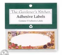 """Kitchen - Jars - Down To Earth - Berry Canning Labels 4"""" x 1.5"""""""