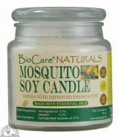 Candles - Soy Candles - Down To Earth - BioCare Naturals Mosquito Soy Candle 15 oz