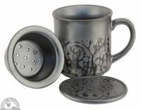 Kitchen - Tea - Down To Earth - Tea Mug 10 oz - Black Tetsuyu