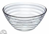 """Recycled & Biodegradable - Recycled Glass - Down To Earth - Bormioli Rocco Viva Bowl Wide 7.75"""""""