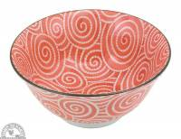 """Kitchen - Dishware - Down To Earth - Bowl 6"""" - Coral Spirals"""
