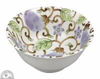 """Kitchen - Dishware - Down To Earth - Bowl 6"""" - Eggplant Vine"""