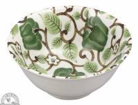 "Kitchen - Dishware - Down To Earth - Bowl 6"" - Green Pepper Vine"