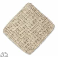 Kitchen - Cloths & Towels - Down To Earth - Cotton Wash Cloth - His (2 Pack)