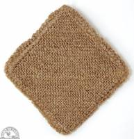 Skin Care - Cleansers - Down To Earth - Cotton/Jute Multi-Purpose Cloth