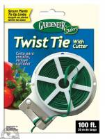 Garden - Plant Supports - Down To Earth - Dalen Twist Tie Spool With Cutter 100 ft