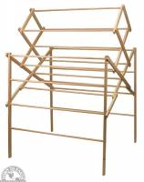 """Clothing - Down To Earth - Deluxe Clothes Drying Rack 60"""""""