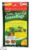 Kitchen - Bags & Containers - Down To Earth - Evert-Fresh Green Bags 10 pcs - Medium