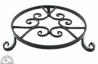 Garden - Yard & Patio - Down To Earth - Forged Pot Trivet 10""