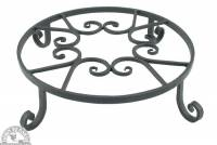 Garden - Yard & Patio - Down To Earth - Forged Pot Trivet 12""