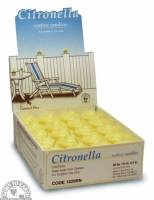 Candles - Paraffin Wax Candles - Down To Earth - General Wax Votive Candles - Citronella
