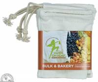 Kitchen - Bags & Containers - Down To Earth - Hemp Bulk Food Bag (3 Pack)