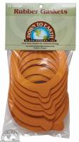 Kitchen - Gaskets - Down To Earth - Le Parfait Rubber Gaskets 100 mm (12 Count)
