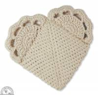Kitchen - Pot Holders - Down To Earth - Loving Pot Holder - Heart