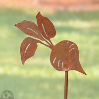 Recycled Metal Vegetable Marker - Beet