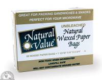 Bags & Containers - Food Storage  - Down To Earth - Waxed Paper Bags - Unbleached