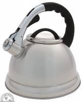 Tea - Teapots & Kettles - Down To Earth - Whistling Tea Kettle Stainless Steel 2.4 Quart