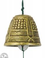 Garden - Accessories - Down To Earth - Windbell - Medium Gold Temple