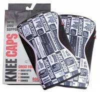 RockTape Knee Caps 5mm Small - Black Manifesto